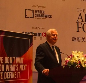 Jack Leslie delivered the keynote speech at the Public Affairs Asia Government Affairs Forum 2017.